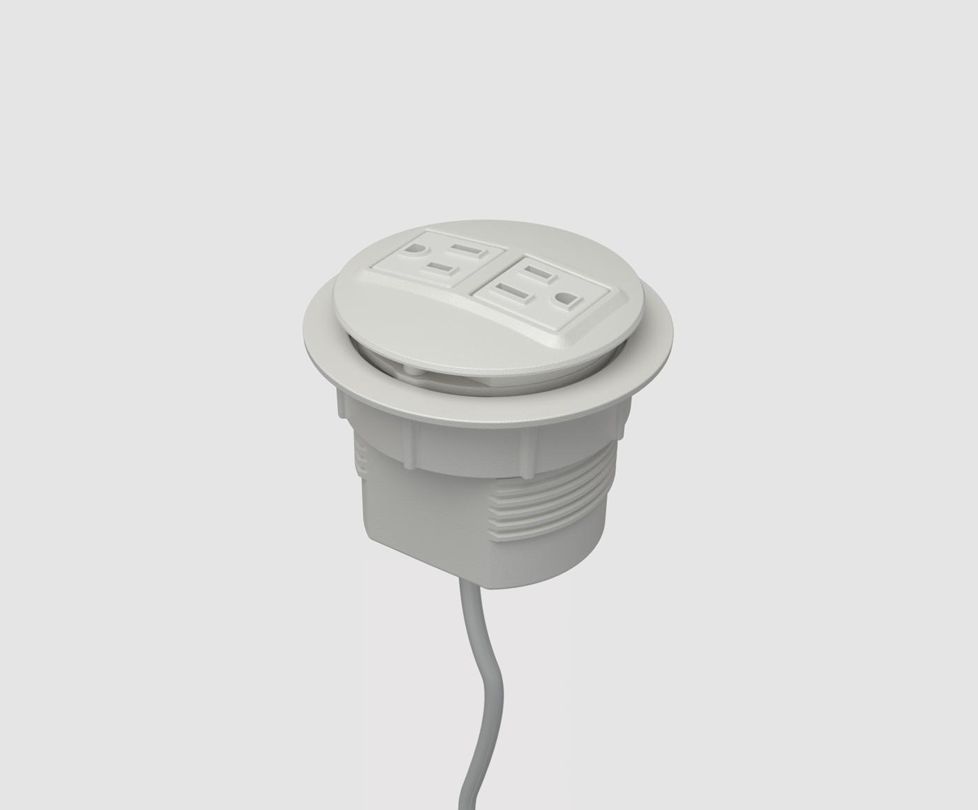 Desk Grommet Power Outlet