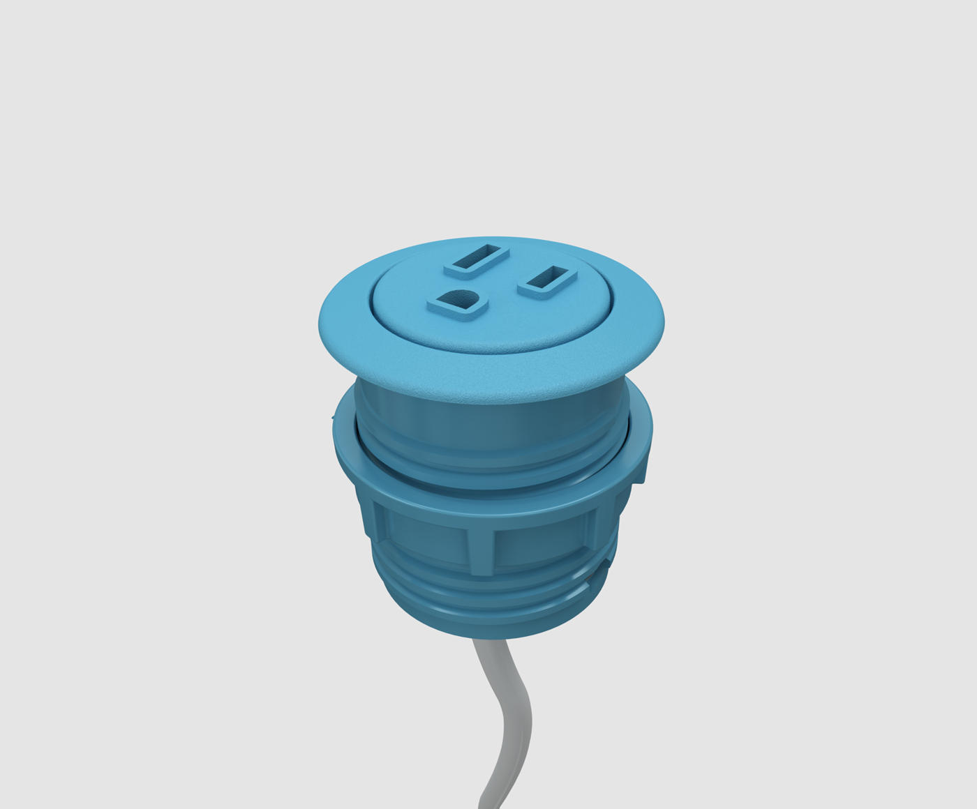 Power Grommet Outlet Pepper Byrne Electrical Mini Usb Cable Wiring Diagram Receptacle Shapes And Configured Part