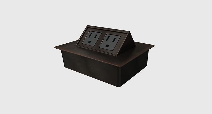 Glenbeigh 174 Contemporary Desk Outlet Byrne Electrical