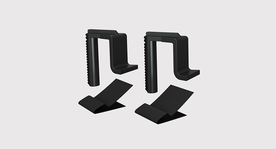 Locking Foot and Mho Retaining Clip Kit